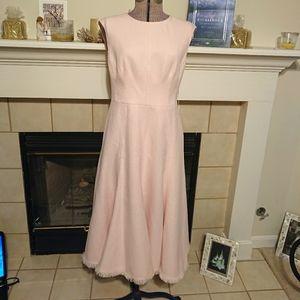 NWT - ElizaJ Sleeveless Tweed Fit & Flare Dress